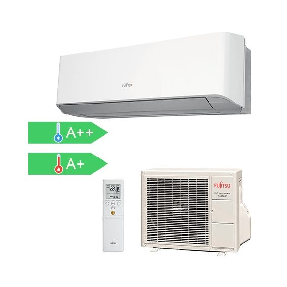 Fujitsu ASYG07LMCA / AOYG07LMCA 2Kw-os oldalfali mono split klíma