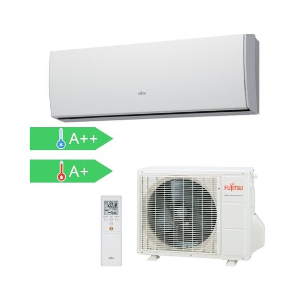 Fujitsu ASYG09LUCA/AOYG09LUCB Slim 2,5 kW-os split klíma szett
