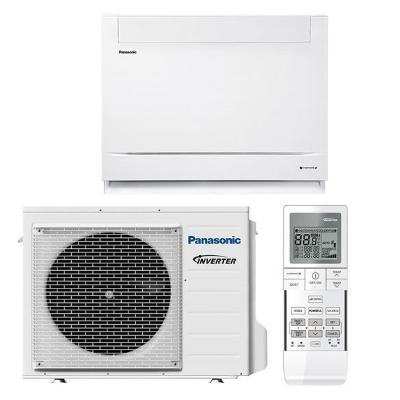 Panasonic KIT-Z50-UFE 5 kW-os parapet klíma szett, A++